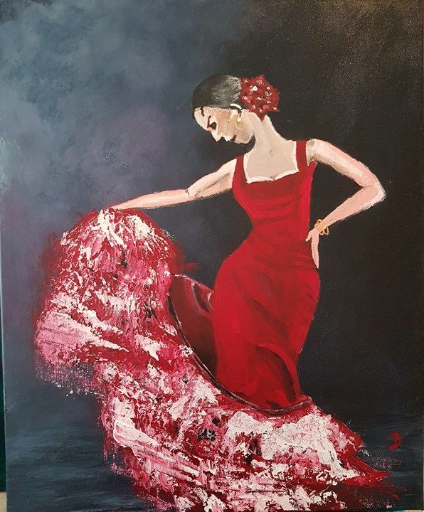 The Spanish Dancer